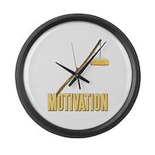 Motivation Twinkie Large Wall Clock