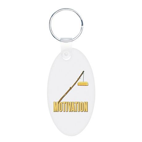 Motivation Twinkie Aluminum Oval Keychain