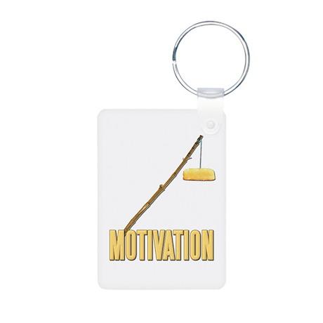 Motivation Twinkie Aluminum Photo Keychain