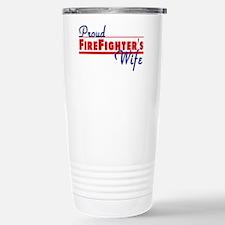 Proud Firefighter's Wife Travel Mug