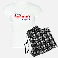 Proud Firefighter's Aunt Pajamas