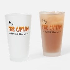 My Fire Captain is Hotter Drinking Glass