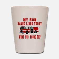 Son-What Did Yours Do? Shot Glass