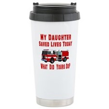 Daughter-What Did Yours Do? Travel Mug