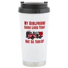 What Did Your's Do? Girlfrien Travel Mug