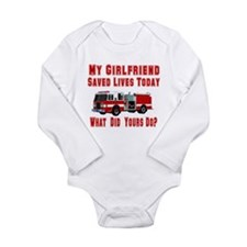 What Did Your's Do? Girlfrien Long Sleeve Infant B