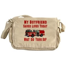 What Did Your Do? Boyfriend Messenger Bag