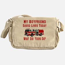 What Did Your Do? Boyfriend Messenger Bag