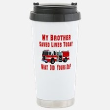Brother-What Did Yours Do? Travel Mug