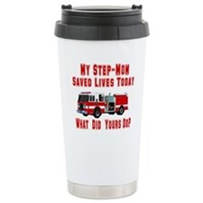 Step Mom-What Did Yours Do? Travel Mug