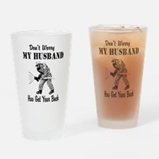 Got Your Back Drinking Glass