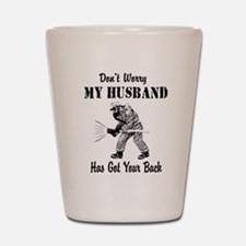 Got Your Back Shot Glass