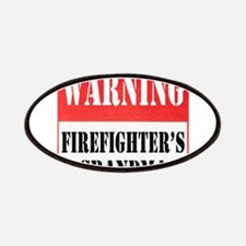Firefighter Warning-Grandma Patches