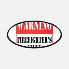 Firefighter Warning-Niece Patches