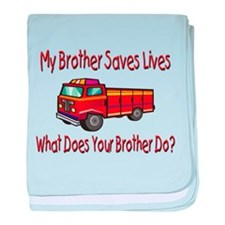 What does yours do? Truck baby blanket