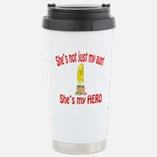 Not just my aunt Stainless Steel Travel Mug