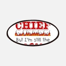 Dad is CHIEF Patches