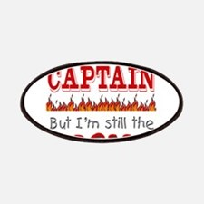 Dad is CAPTAIN Patches