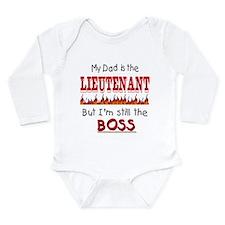 Dad is LIEUTENANT Long Sleeve Infant Bodysuit