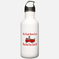 Firefighter Saves Lives-Uncle Water Bottle