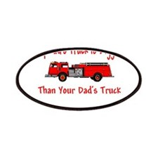 Firetruck Daddy Patches