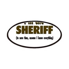 I'm the Sheriff Patches
