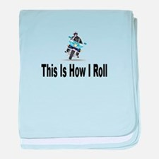 Police-How I Roll baby blanket