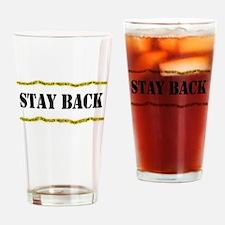 Police Line-Do Not Cross Drinking Glass