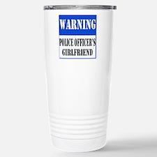 Police Warning-Girlfriend Travel Mug
