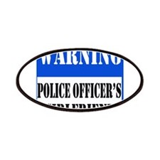 Police Warning-Girlfriend Patches
