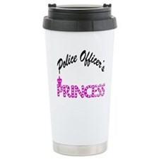 Police Officer's Princess Travel Mug
