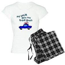 Gets the bad guys- uncle Pajamas