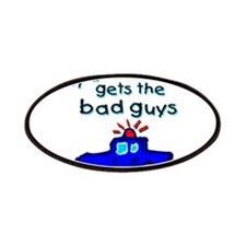Gets the bad guys- uncle Patches