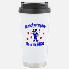 Not just my Uncle Stainless Steel Travel Mug