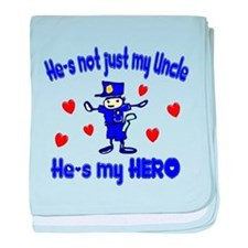 Not just my Uncle baby blanket