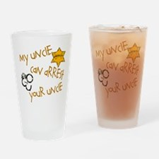 Sheriff- My Uncle Drinking Glass