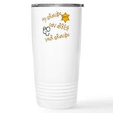 Sheriff-My Grandpa Travel Coffee Mug