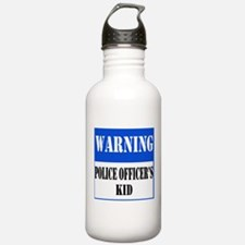 Police Warning-Kid Water Bottle