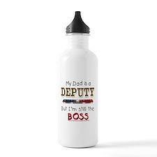 Dad is Deputy Water Bottle