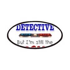 Dad is Detective Patches