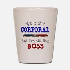 Dad is Corporal Shot Glass
