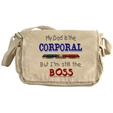 Dad is Corporal Messenger Bag