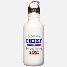 Dad is CHIEF Water Bottle