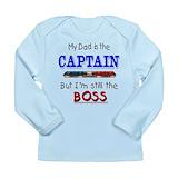 Captain police Long Sleeve Tees