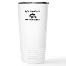 Military Hummer Daddy-Kids Travel Mug