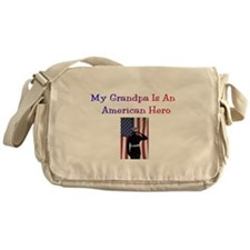 American Hero Grandpa Messenger Bag