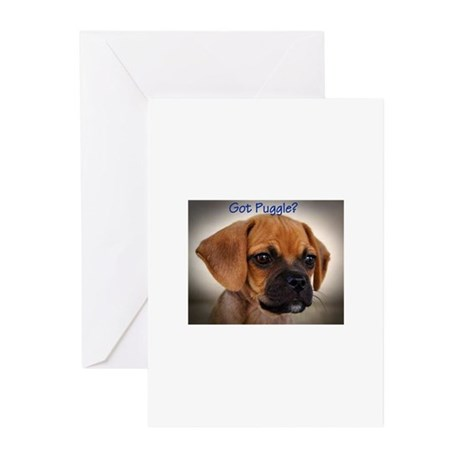 Got Puggle ? Greeting Cards (Pk of 10)