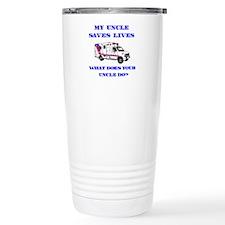 Ambulance Saves Lives-Uncle Travel Mug
