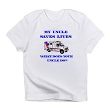 Ambulance Saves Lives-Uncle Infant T-Shirt
