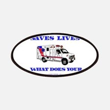 Ambulance Saves Lives-Aunt Patches